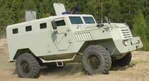 ООО «Военно-промышленная компания» представляет новую специальную бронированную полицейскую машину СПМ-3