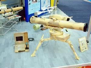 На вооружение Вооруженных Сил Украины принято новейший противотанковый ракетный комплекс Стугна-П и программно-технические комп