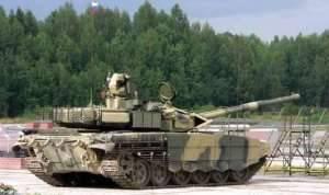 На выставке RЕА-2011 продемонстрирован новый танк Т-90АМ