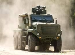 Бронированная машина Timberwolf компании Force Protection