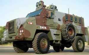 Три индийских команды работают над машинами с противоминной защитой, предвидя рост заказов на них