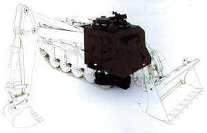 Тренажер бронированной инженерной машины Terrier