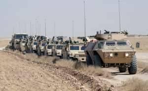 M1117 ASV сопровождает конвой в Ираке