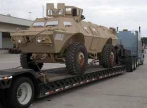 Textron Marine & Land Systems заключает контракт на дополнительную поставку бронированных машин Афганской национальной армии