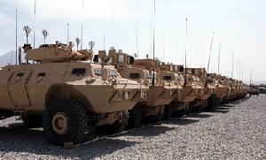 Textron получает заказ на 71 дополнительную машину MSFV для Национальной армии Афганистана