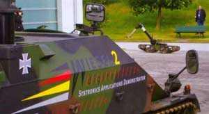 Машины с управлением по сети для участия в боевых операциях