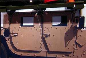 TRAPS установленная на М1114