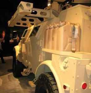 Тактическая система защиты от РПГ фирмы Textron Defense Systems проходит государственные испытания