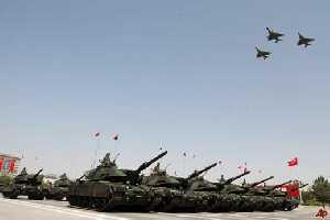 Модернизированные турецкие танки впервые будут продемонстрированы на параде к Дню Победы