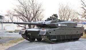 JGSDF официально приняли на вооружение танк Type 10