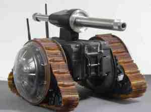 Elbit представляет компактного боевого робота VIPeR