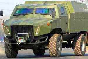 AMZ Kutno представила бронемашину Zubr-P